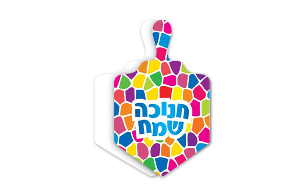 Chanukah Dreidel Card 36 pcs.
