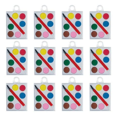 Mini Favor Paint Set 12/pk