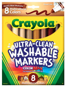 Crayola Washable Marker Multi Cultural 8/pk
