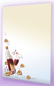 Stationary Paper Purim Design