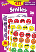 Smiles Stickers/Variety Pack