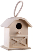 "4.3"" Traditional Birdhouse 12/pk"