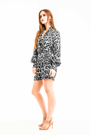 Playsuit-Black-White-Leopard-Print