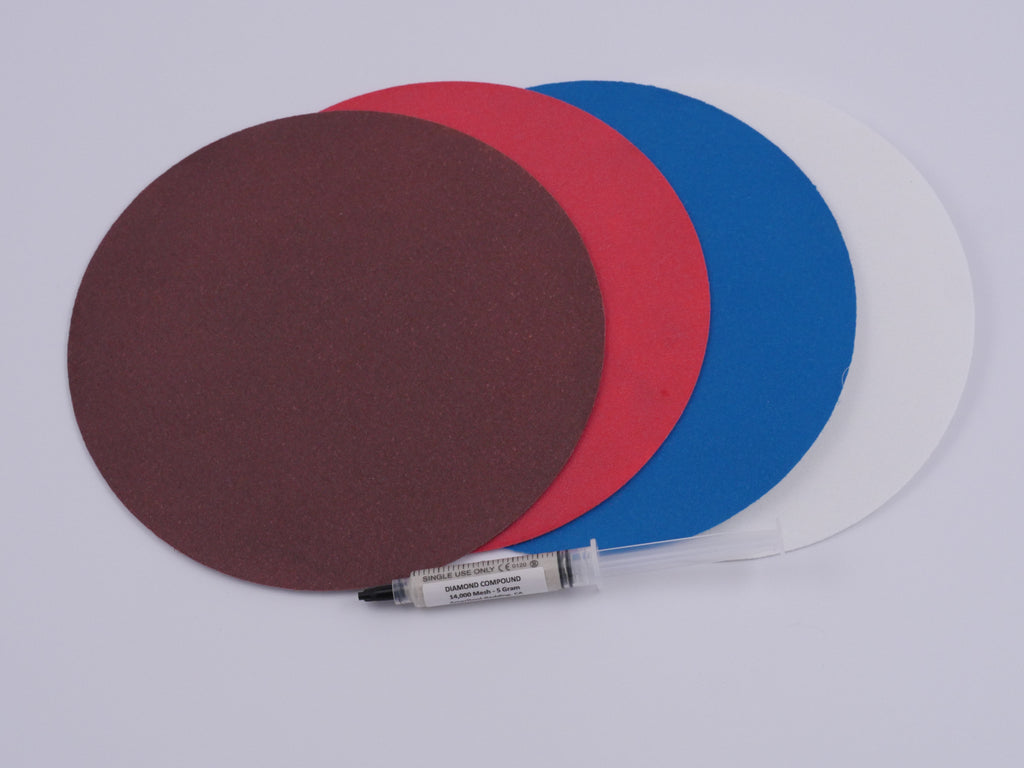 8 Inch Pro Diamond Sanding Disc Set Without Backing Plates