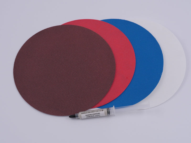 6 Inch Pro Diamond Sanding Disc Set Without Backing Plates