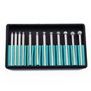 12 Pc Diamond Ball Burr Set - Ameritool Inc.