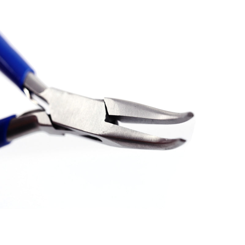 Bent Nose Pliers (Blue) - Ameritool Inc.