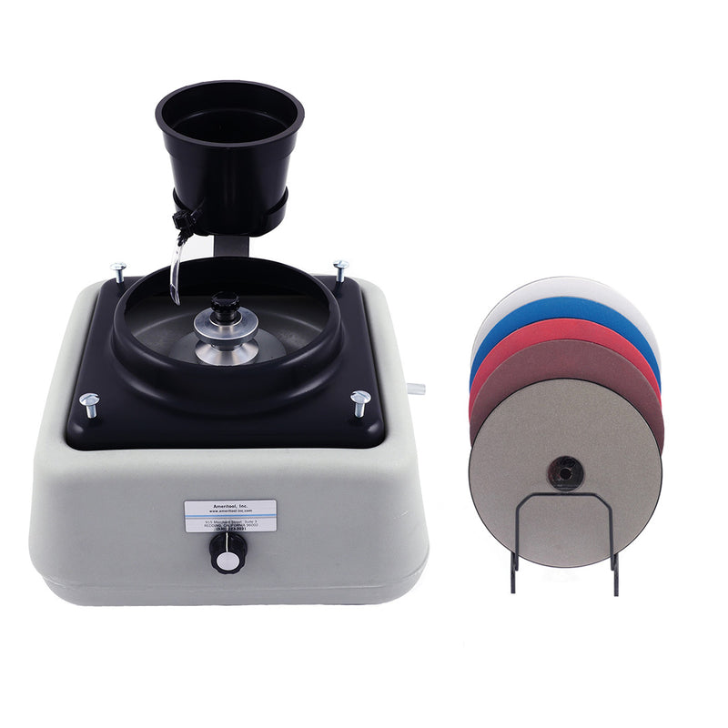 Universal Heavy Duty Grinding and Polishing Machine with Accessories