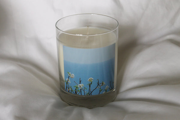 Costa Rica Flower Candle