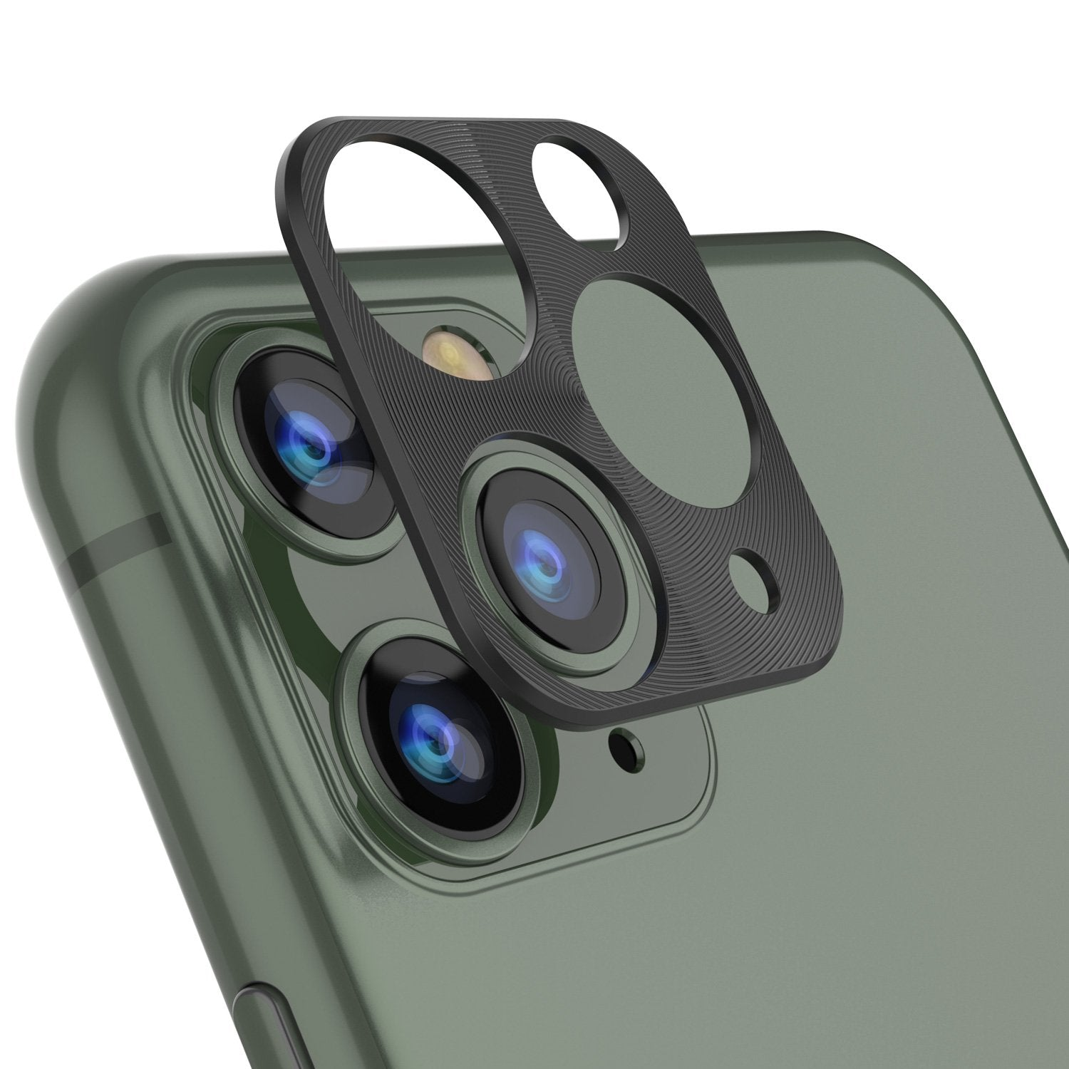 Punkcase iPhone 11 Pro Camera Protector Ring [Black]