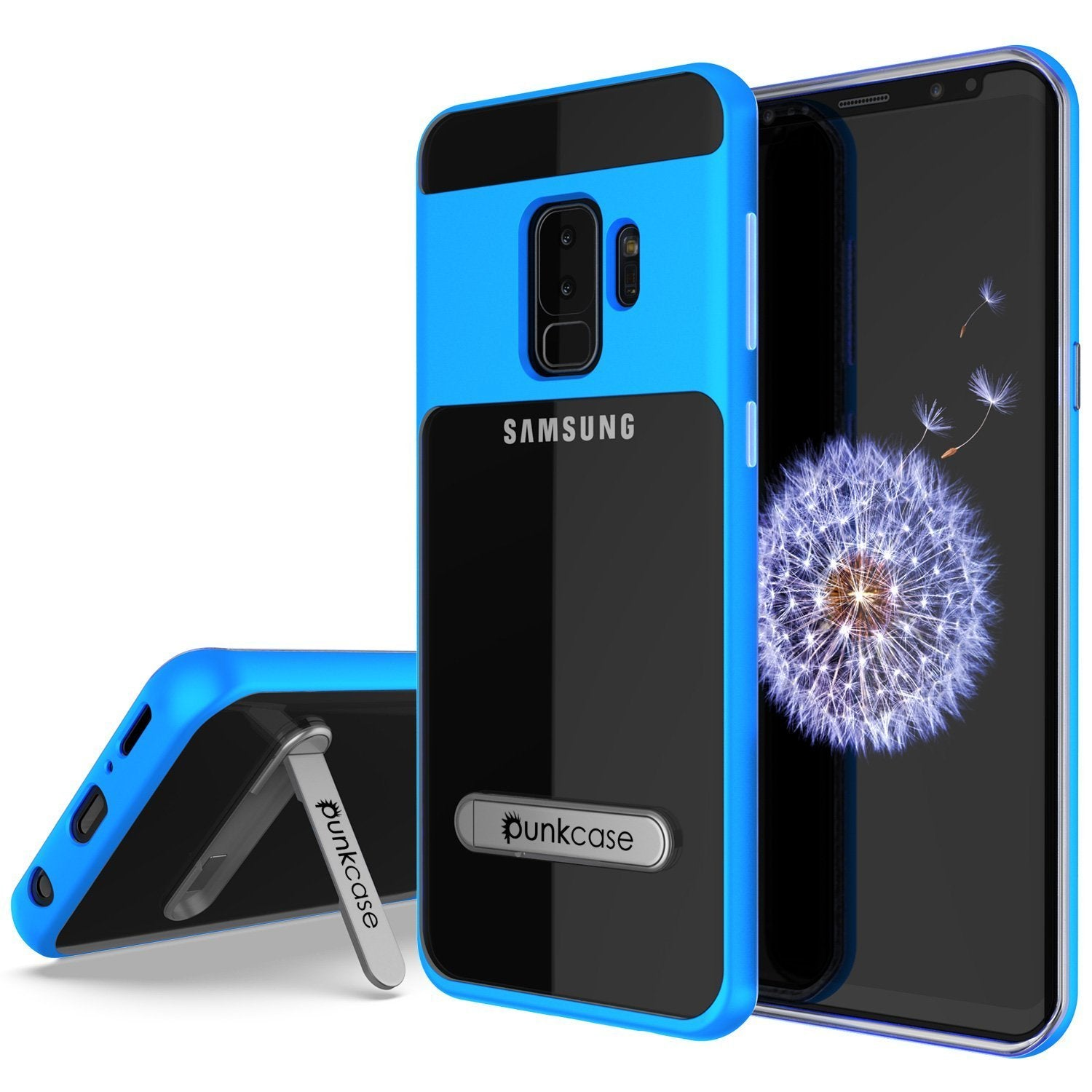 Galaxy S9+ Plus Case, [LUCID 3.0 Series] [Slim Fit] [blue]