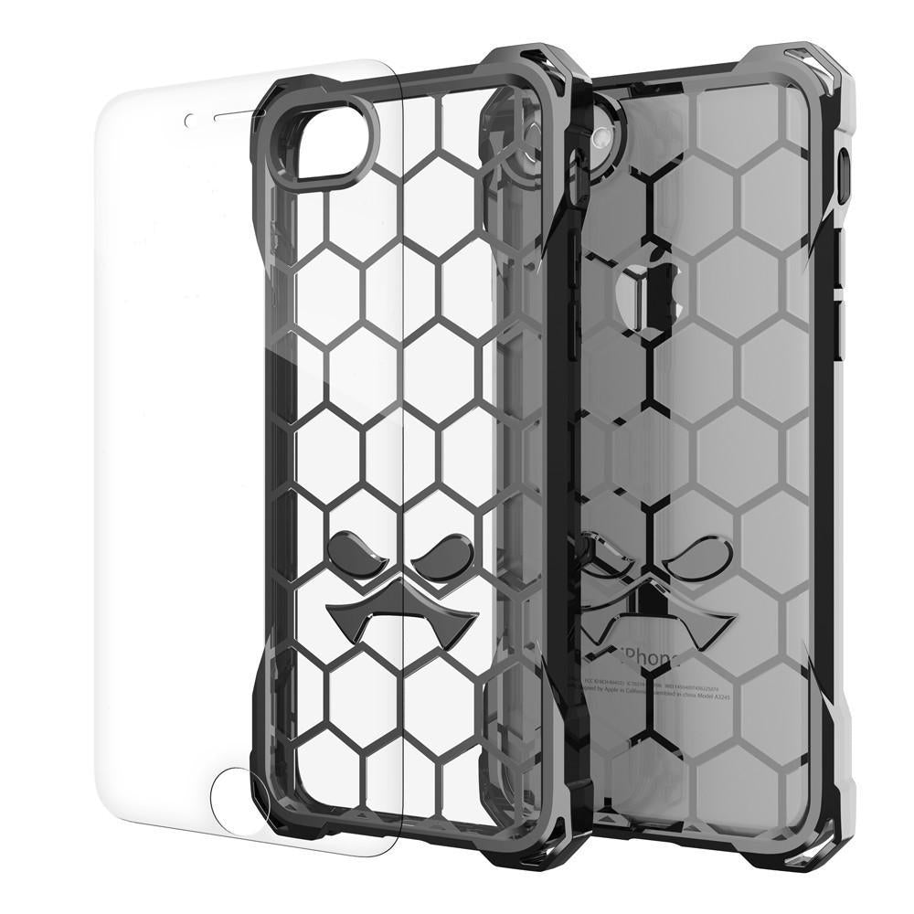 iPhone 8+ Plus Case, Ghostek® Covert Space Grey, Premium Impact Armor | Lifetime Warranty Exchange
