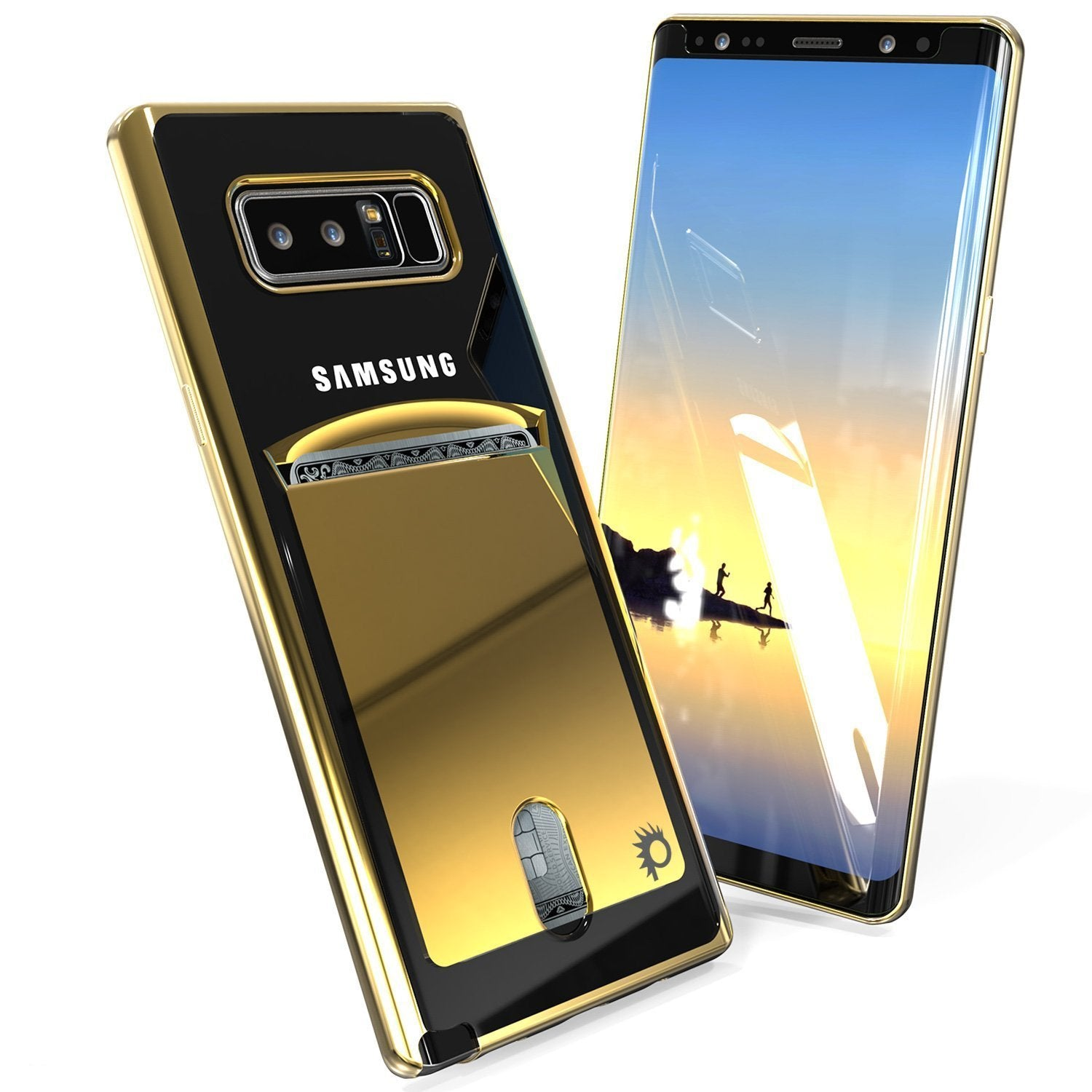 Galaxy Note 8 Punkcase LUCID Gold Series Shield Screen Protector