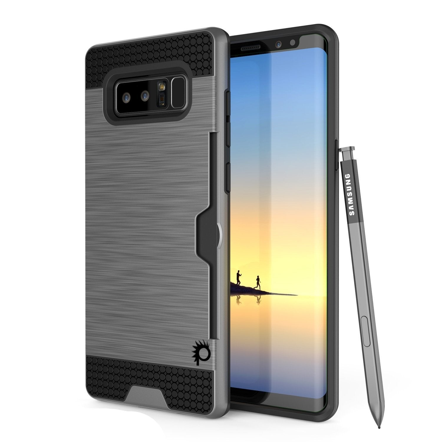 Galaxy Note 8 Case, Punkcase [SLOT Series] Slim Fit  Note 8  [Rose]