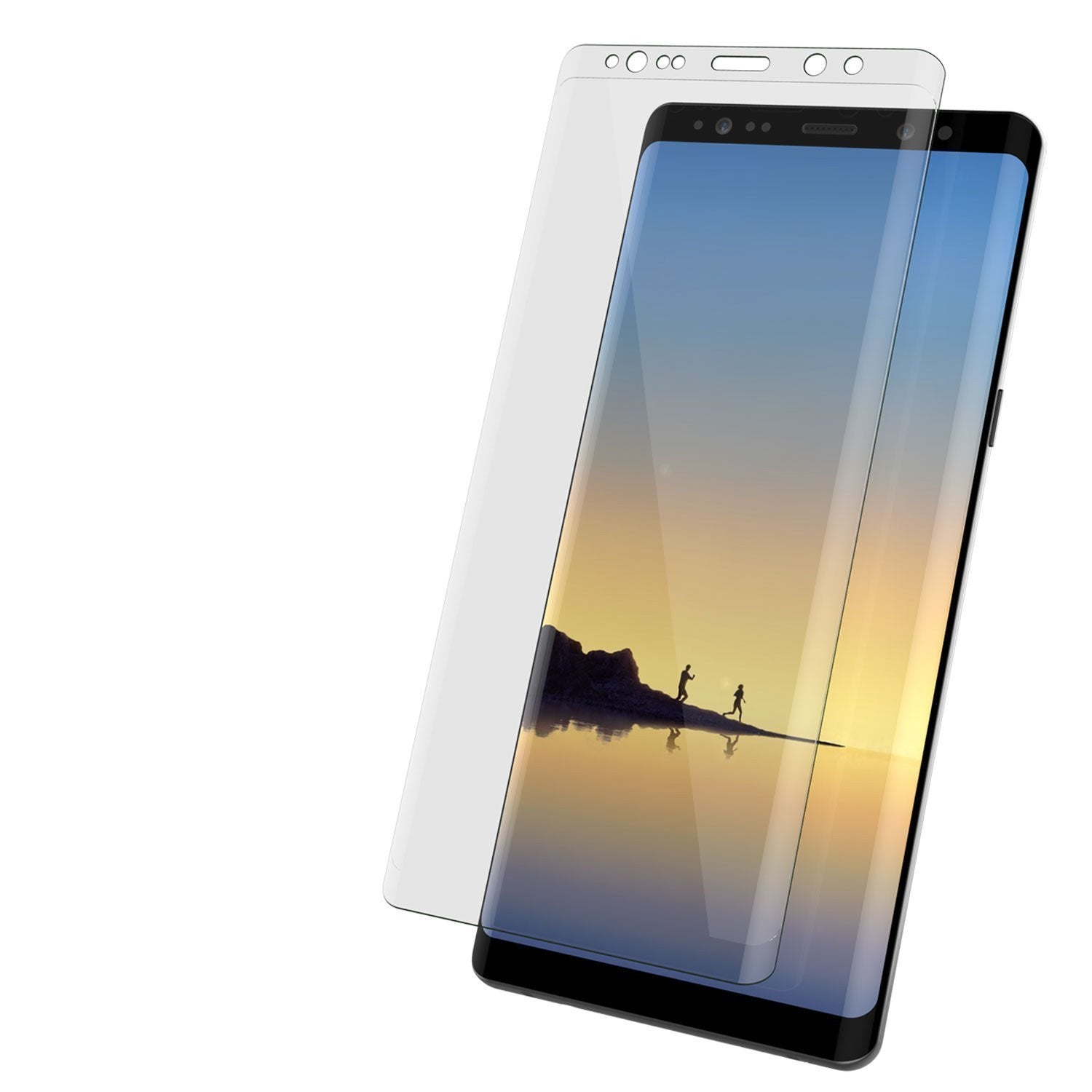 Galaxy note 10 Clear Punkcase Glass SHIELD Tempered Glass Screen Protector 0.33mm Thick 9H Glass