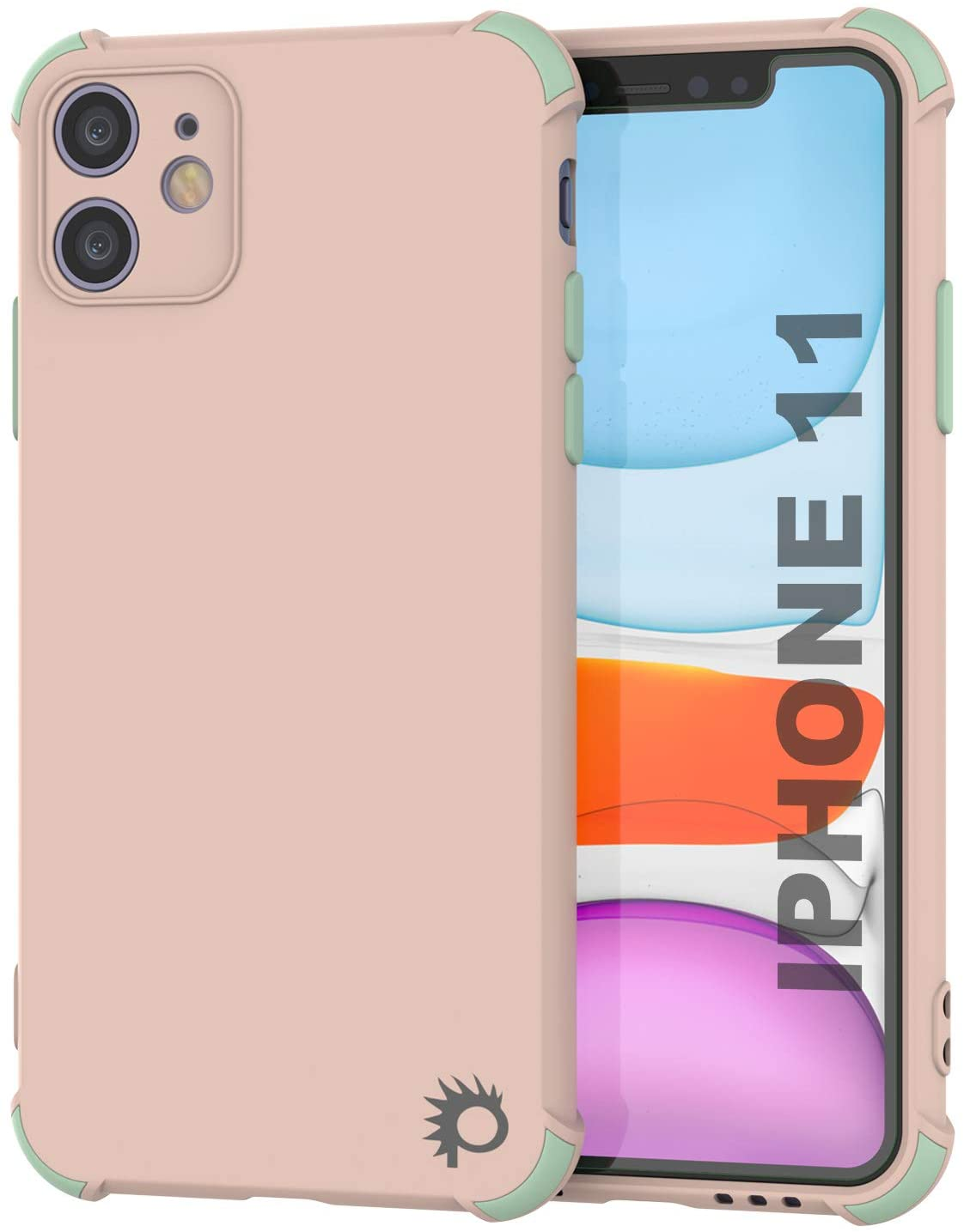 Punkcase Protective & Lightweight TPU Case [Sunshine Series] for iPhone 11 [Pink]