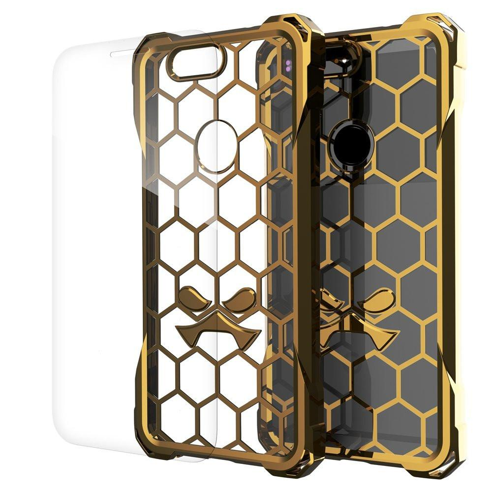 Google Pixel Case, Ghostek® Covert Gold, Premium Impact Protective Armor | Lifetime Warranty Exchange
