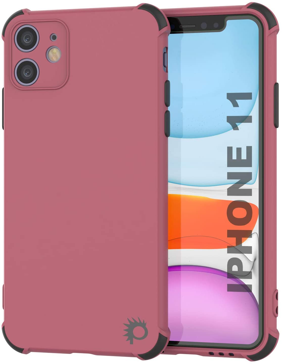 Punkcase Protective & Lightweight TPU Case [Sunshine Series] for iPhone 11 [Rose]