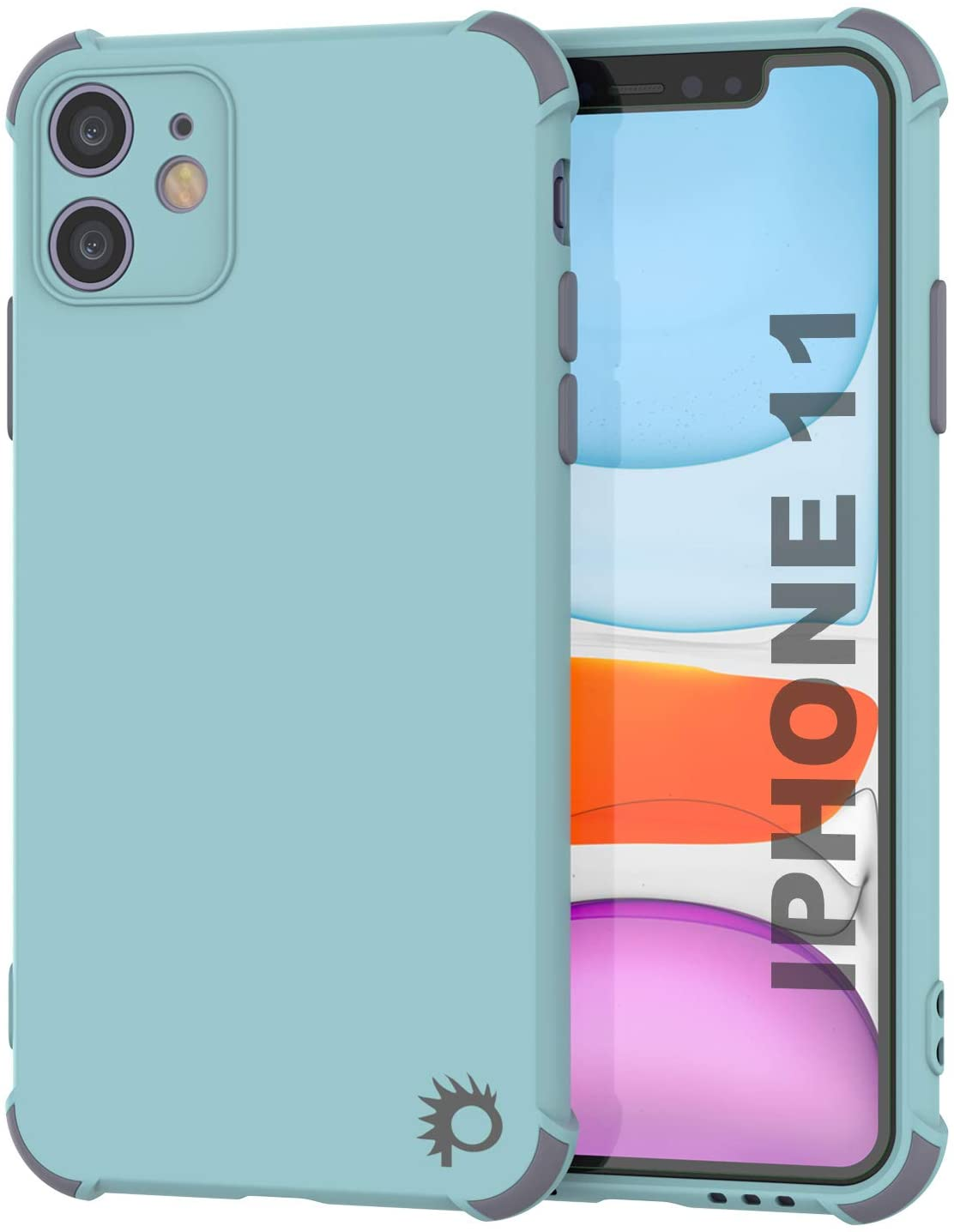 Punkcase Protective & Lightweight TPU Case [Sunshine Series] for iPhone 11 [Teal]