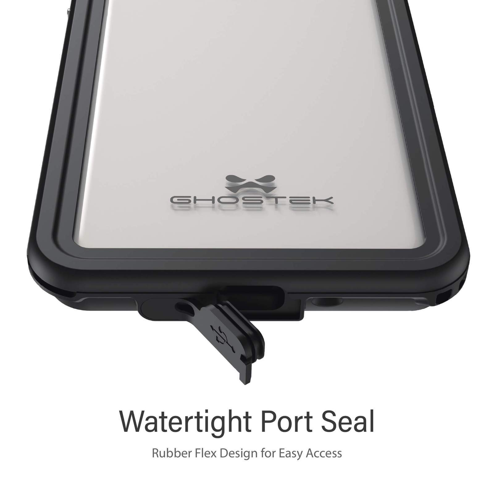 Galaxy S20+ Plus Rugged Waterproof Case | Nautical Series [Clear]