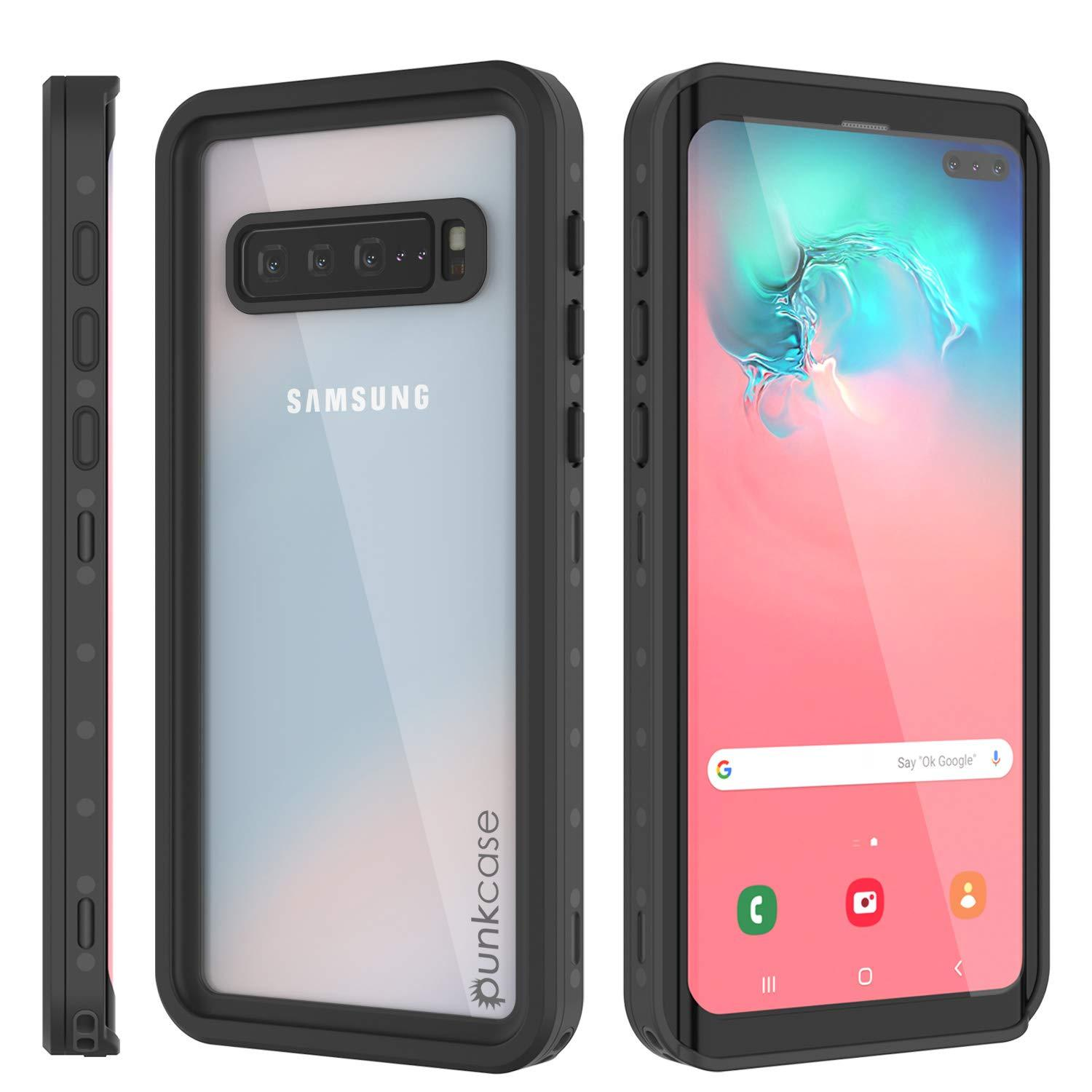 Galaxy S10 5G Waterproof Case PunkCase StudStar Clear Thin 6.6ft Underwater IP68 Shock/Snow Proof