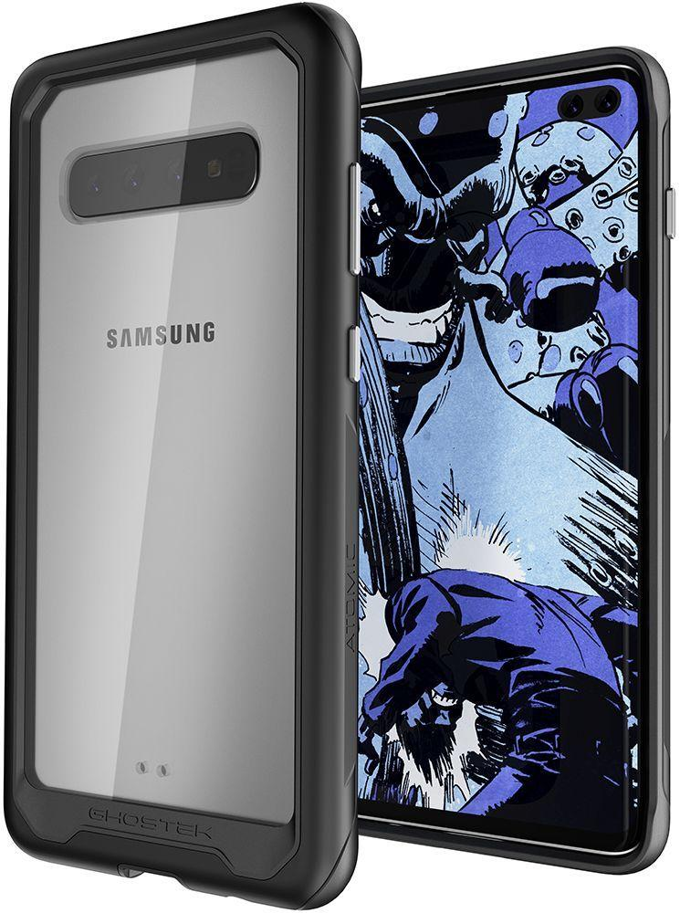 Galaxy S10+ Plus Military Grade Aluminum Case | Atomic Slim 2 Series [Black]