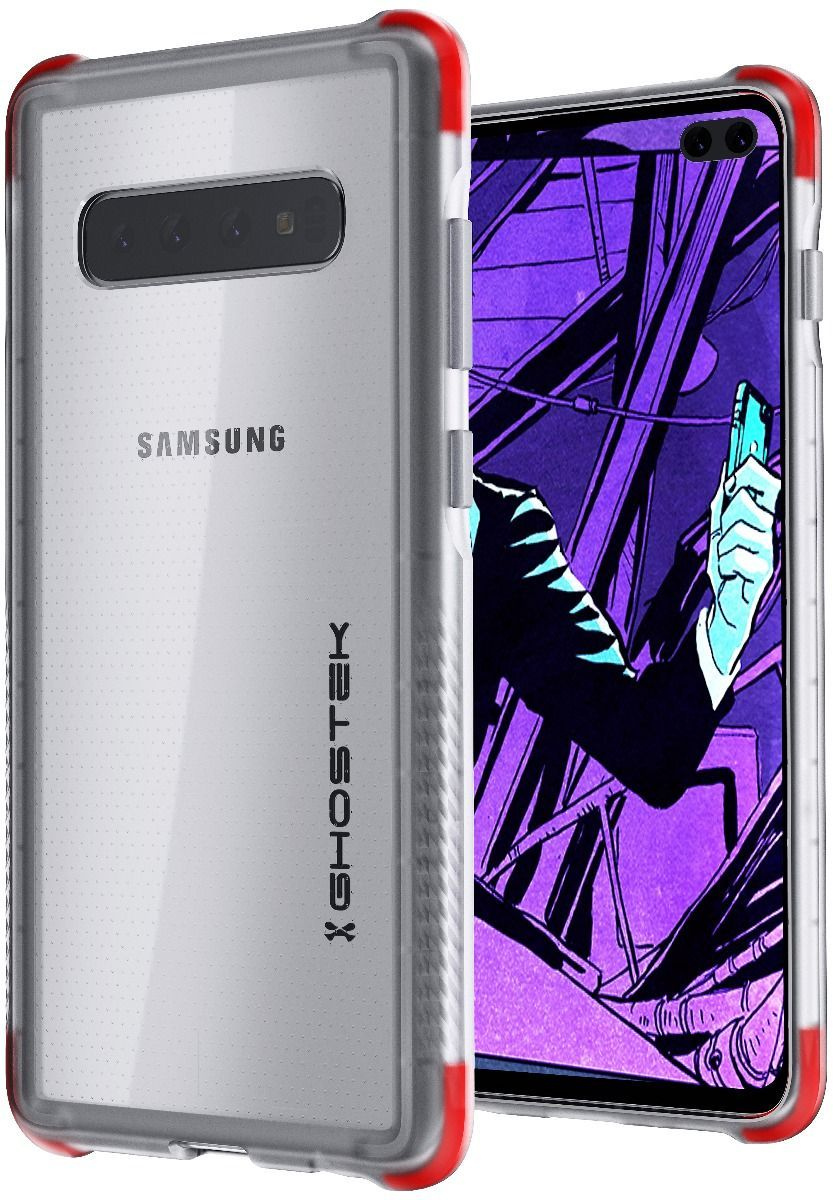 Galaxy S10+ Plus Clear-Back Protective Case | Covert 3 Series [Clear]