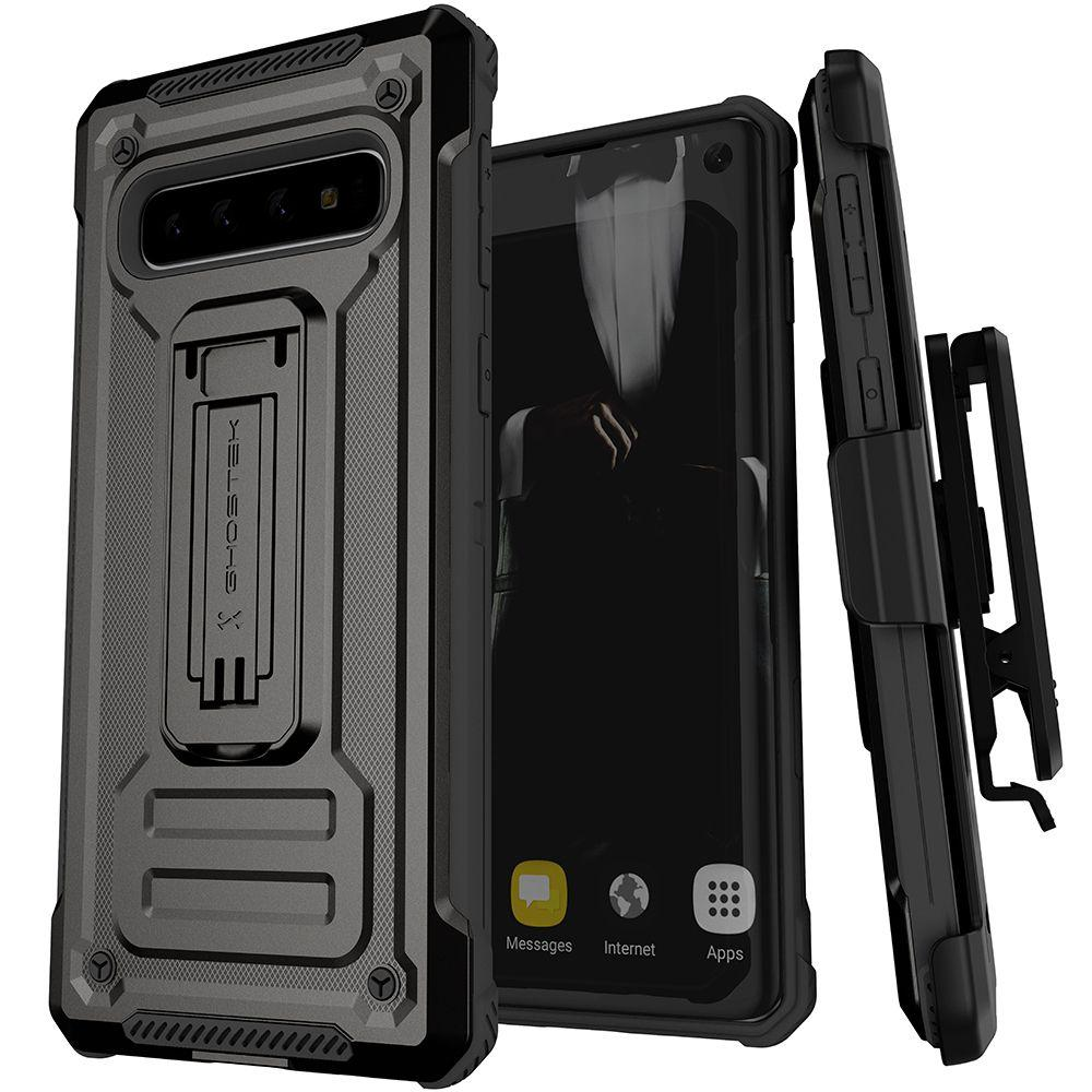 Ghostek IRON ARMOR2 for Galaxy S10 [Black]