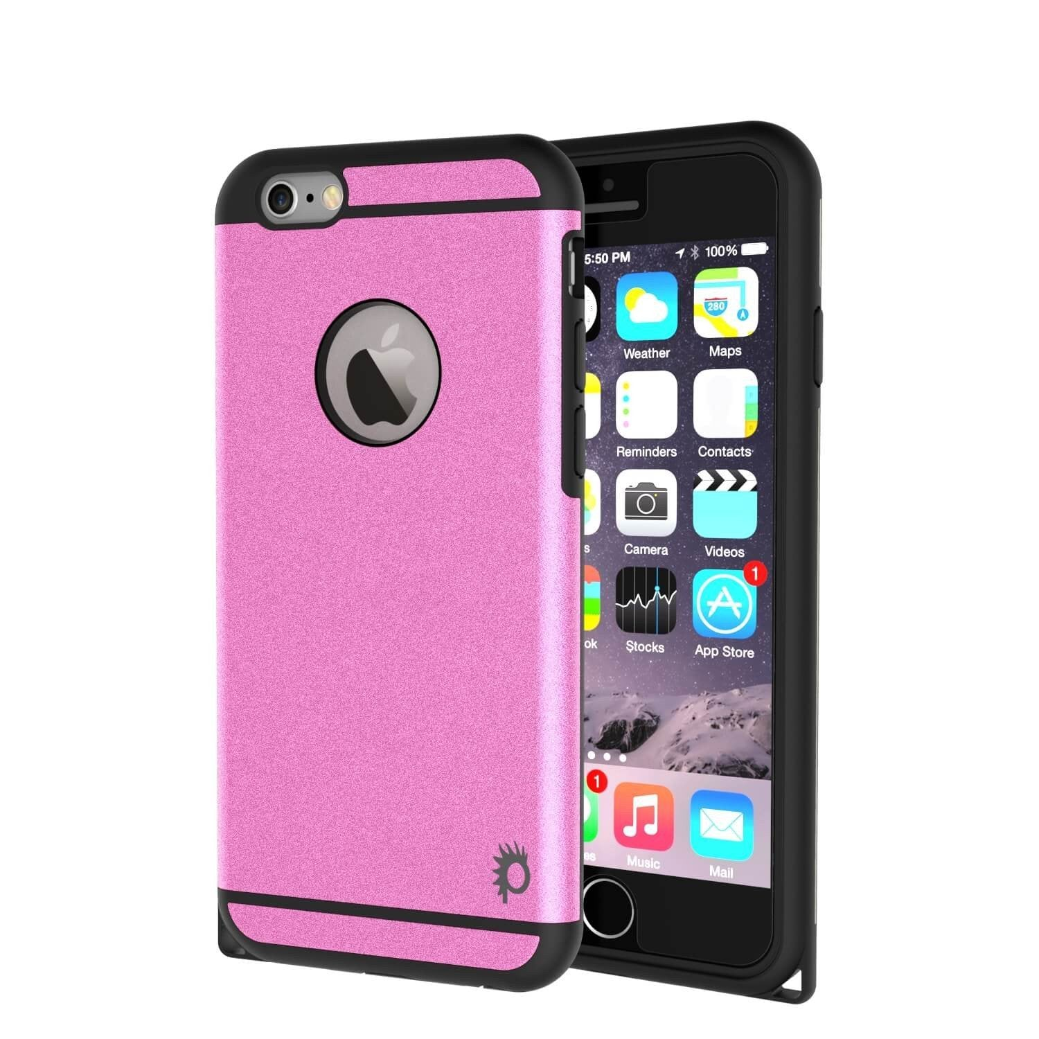 iPhone 5s/5/SE Case PunkCase Galactic Pink Series  Slim w/ Tempered Glass | Lifetime Warranty