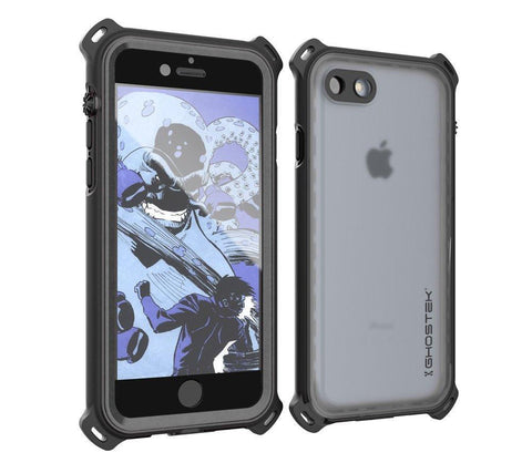 check out db0c5 ccaa1 iPhone 8 Waterproof Case, Ghostek Nautical Series for iPhone 8 | Slim  Underwater Protection | Ultra Fit | Swimming (Black)