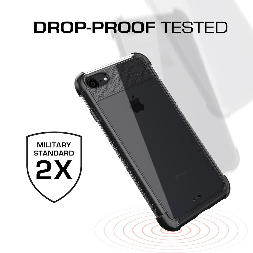 iPhone  8 Case, Ghostek Covert 2 Series for iPhone  8 & iPhone  8 Protective Case [BLACK]