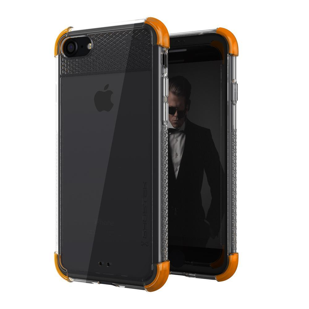 iPhone  8 Case, Ghostek Covert 2 Series for iPhone  8 Protective Case [ORANGE]