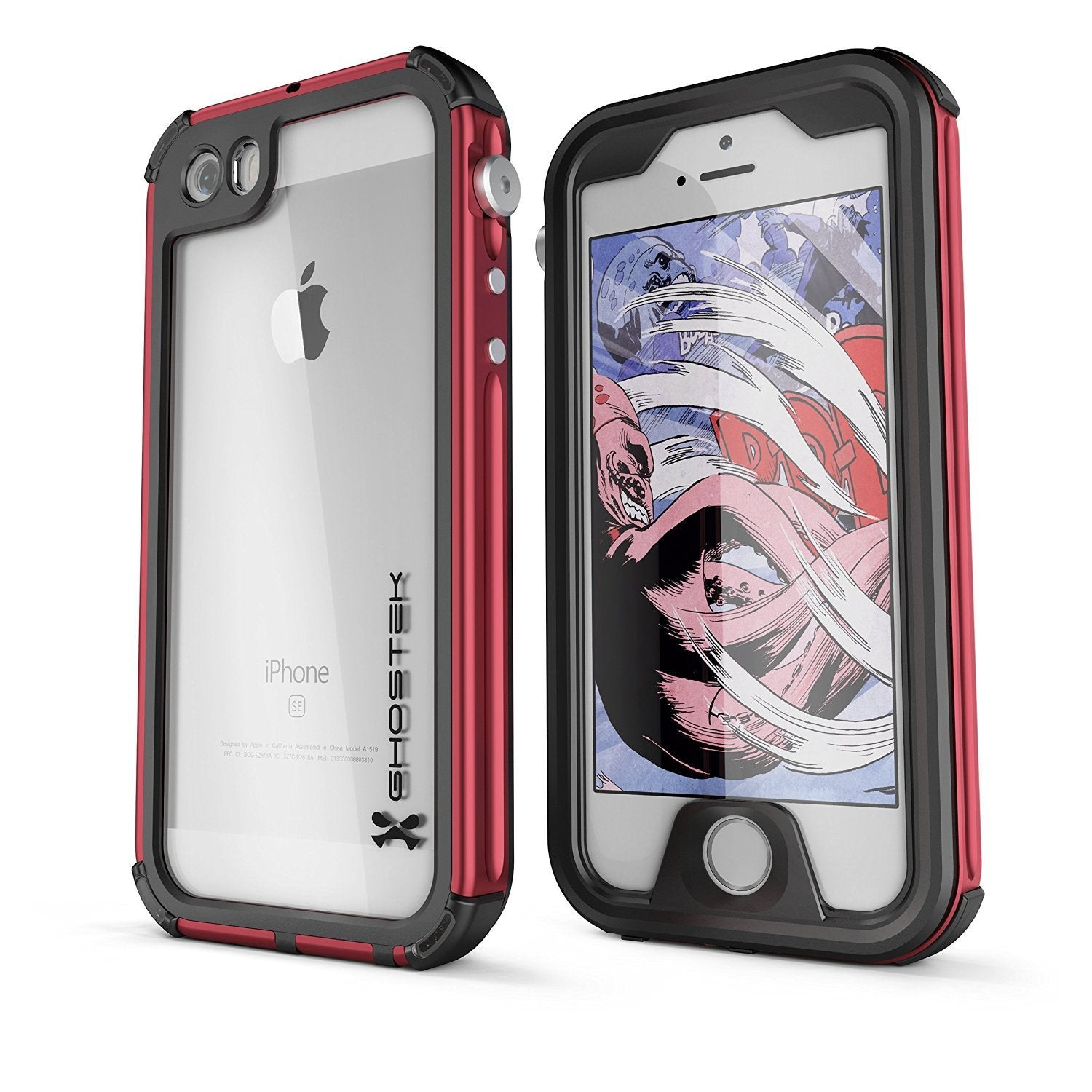 finest selection 8e8f6 05fee iPhone 7 Waterproof Case, Ghostek® Atomic 3 Series for Apple iPhone 7 |  Underwater | Shockproof | Dirt-proof | Snow-proof | Aluminum Frame | ...