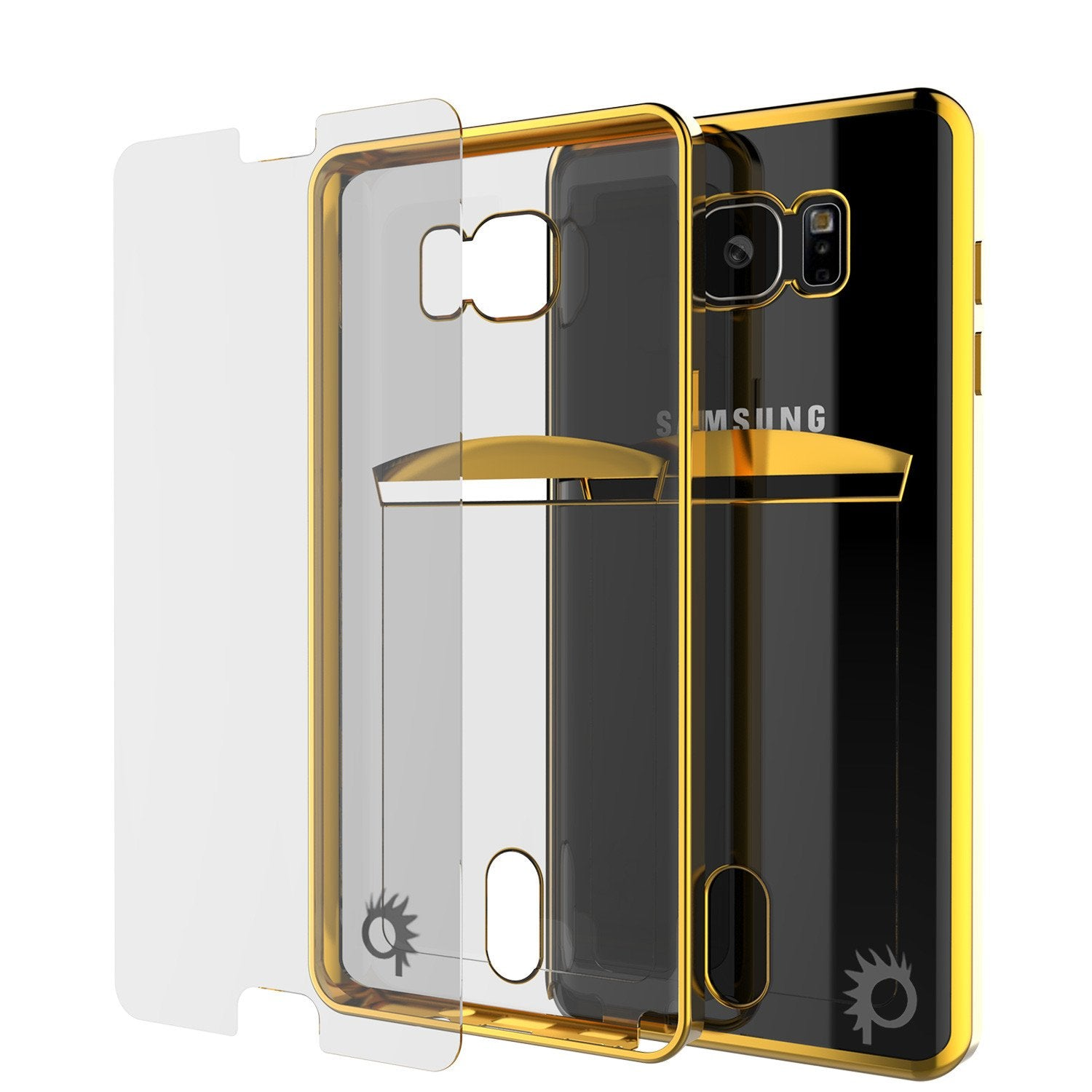 Galaxy Note 5 Case, Punkcase® Lucid Gold Series Protector Case