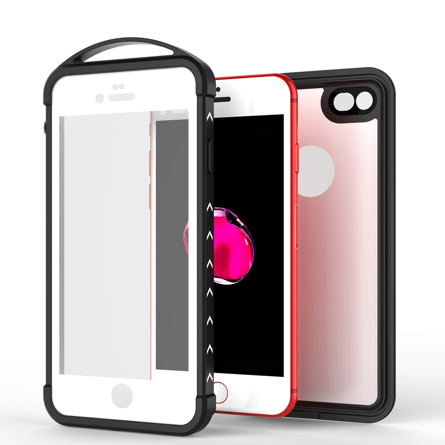 iPhone 7 Waterproof Case, Punkcase ALPINE Series, White | Heavy Duty Armor Cover