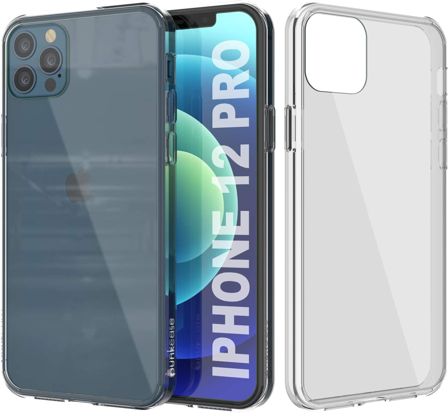 iPhone 12 Pro Case Punkcase® LUCID 2.0 Clear Series Series w/ SHIELD Screen Protector | Ultra Fit