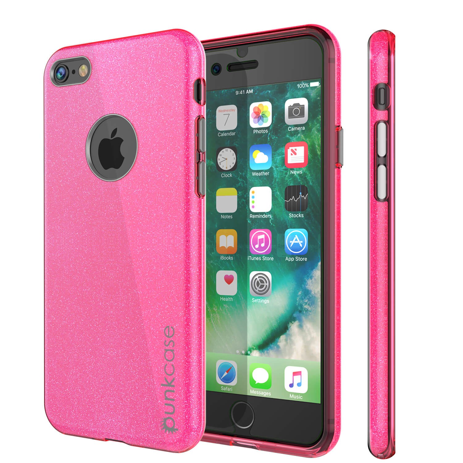 iPhone 6s/6 Case PunkCase Galactic Pink Series  Slim w/ Tempered Glass | Lifetime Warranty