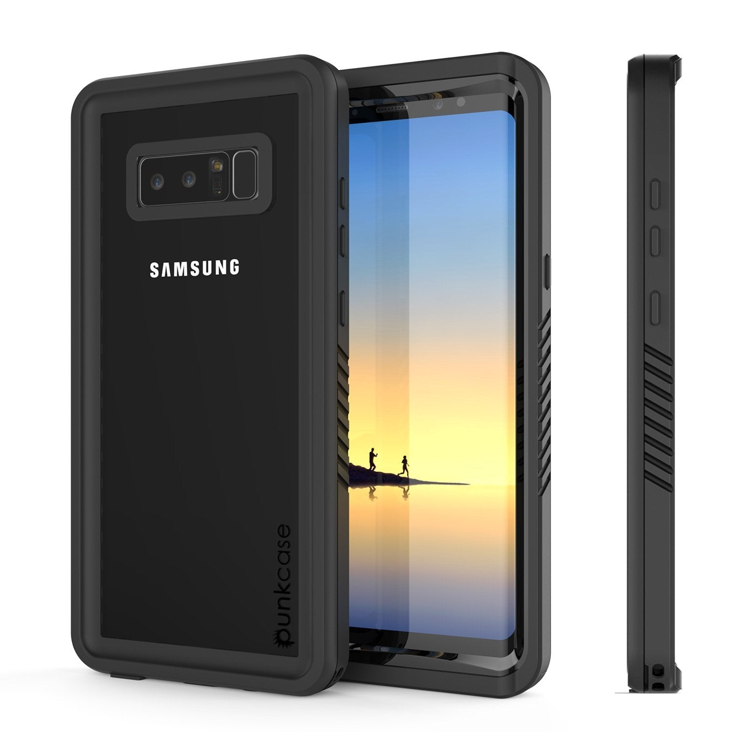 Galaxy Note 8 Waterproof Case, Punkcase [Extreme Series] [Clear]