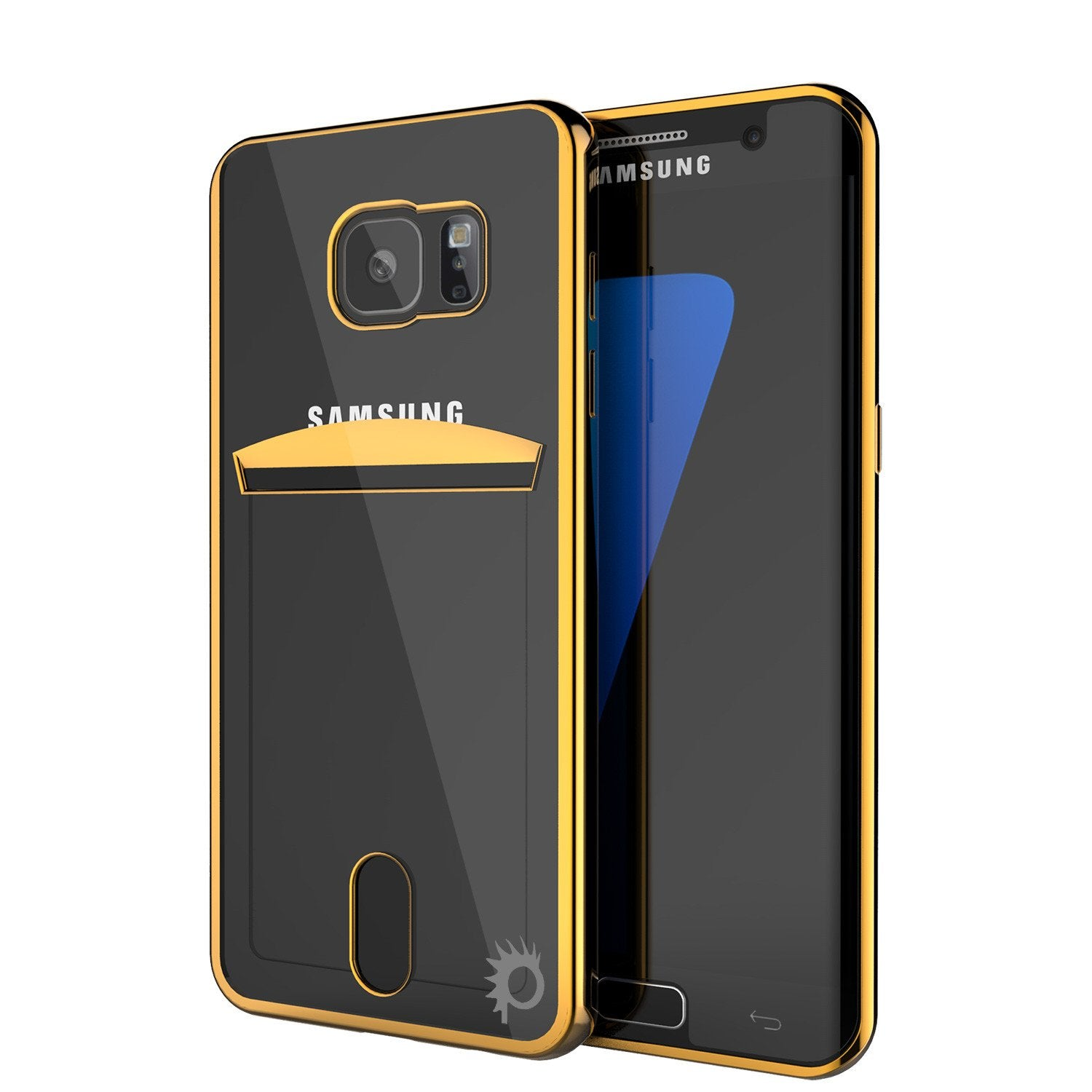 Galaxy S7 EDGE Case, PUNKCASE® LUCID Gold Series Ultra fit