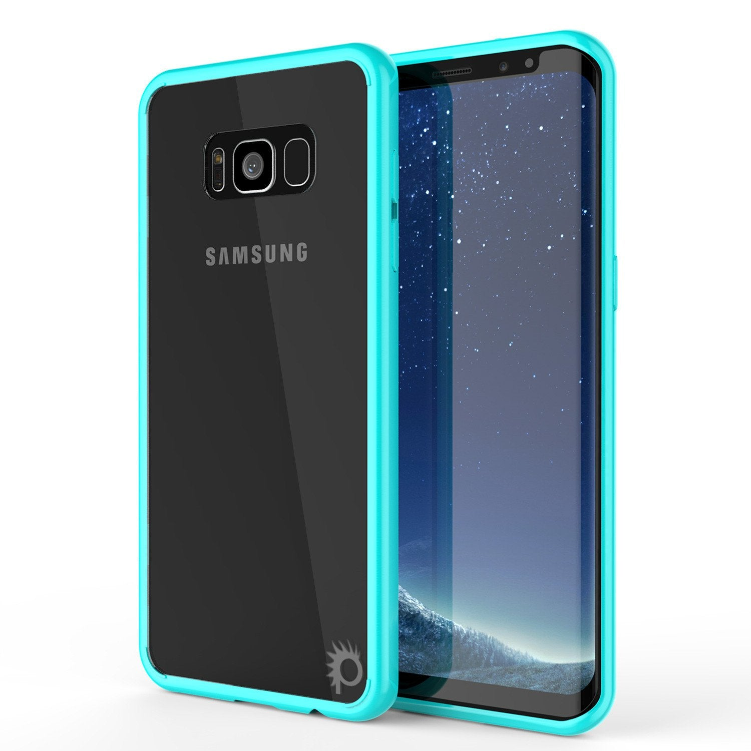 Galaxy S8 Case, Punkcase [LUCID 2.0 Series] [Slim Fit] [TEAL]