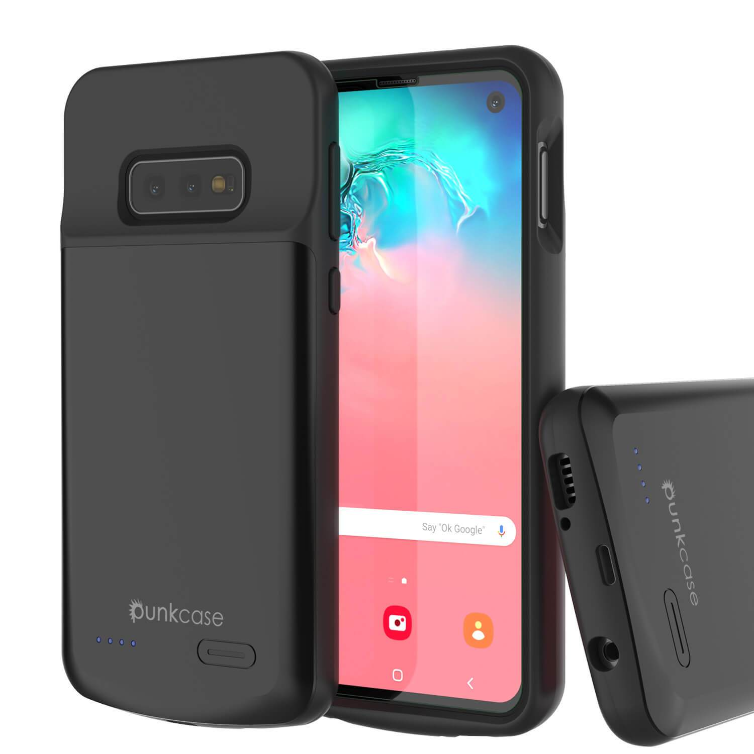 PunkJuice S10e Battery Case Reg. Black - Fast Charging Power Juice Bank with 4700mAh