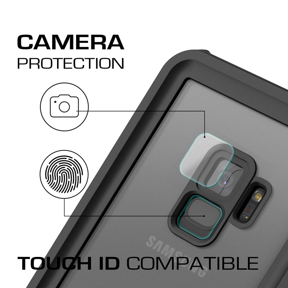 Galaxy S9 Rugged Waterproof Case | Nautical Series [Black]
