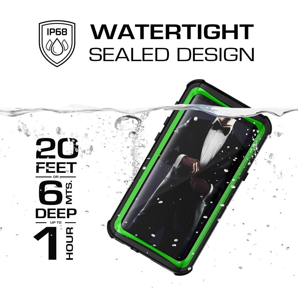 Galaxy S9 Rugged Waterproof Case | Nautical Series [Green]