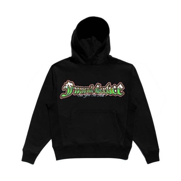 SEE YOU IN HELL EMBROIDERED HOODIE