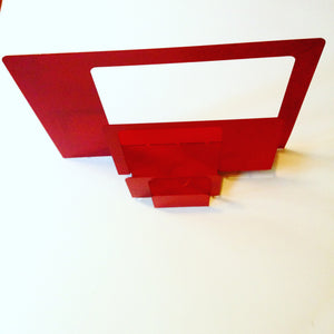 Vintage Metal Desk Paper Sorter & Letter Holder