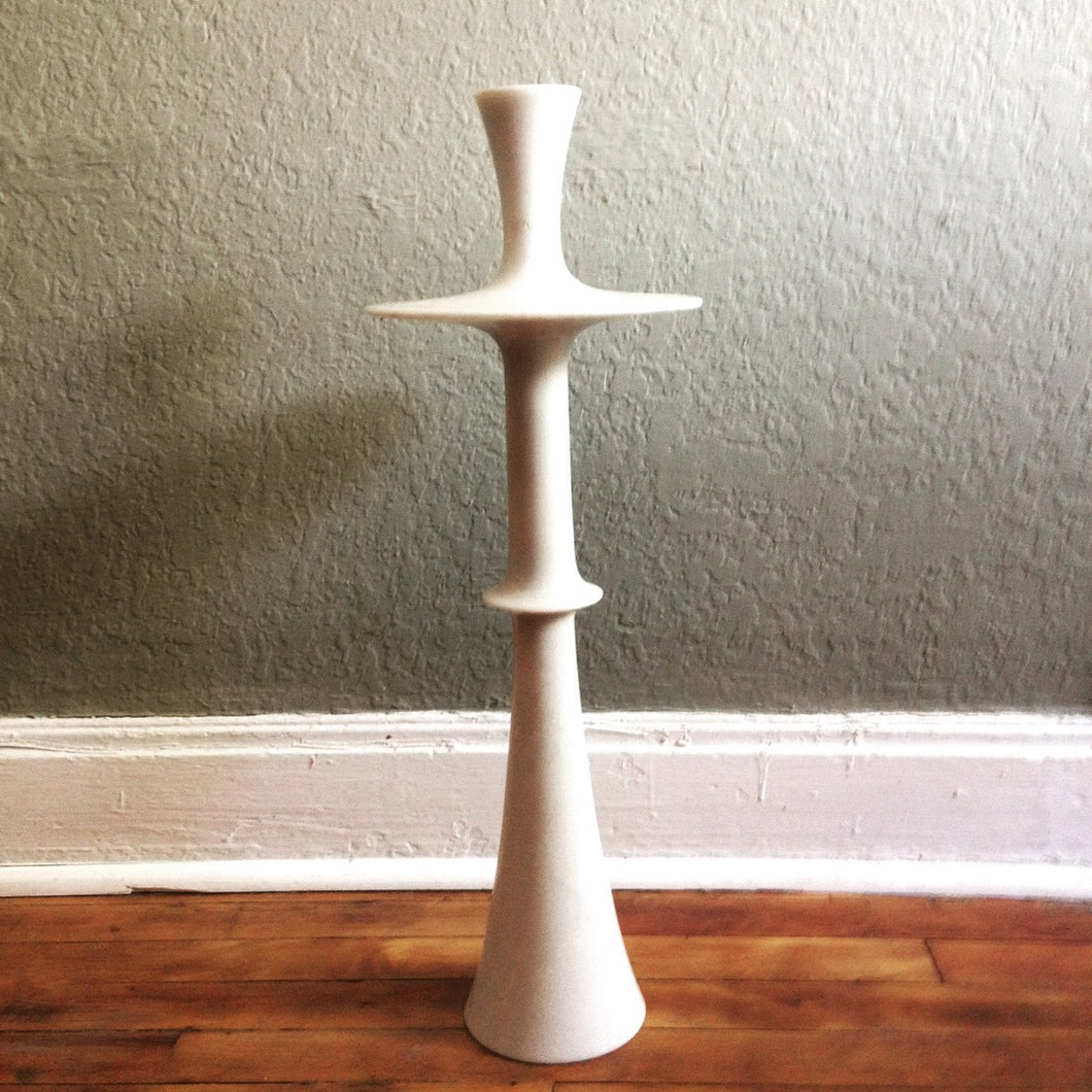 Vintage Extra Large Marble Taper Holder
