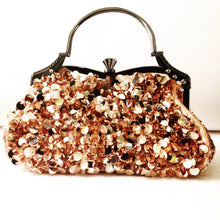 Champagne Sequin Party Purse