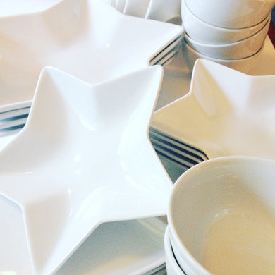 Great White Star Bowls and Plates