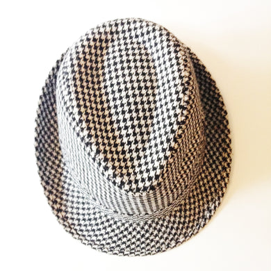 Houndstooth Trilby Men's Hat