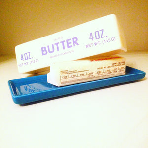 Extra Large Ceramic Butter Dish